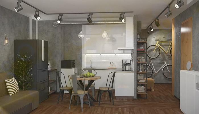 Дизайн интерьера однокомнатной квартиры: идеи и рекомендации в 2020 году | Блог Мебелион.ру